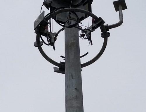 HZMB CCTV Mast